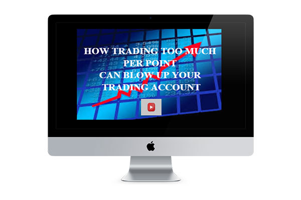 How Speadbetting too much per point could blow up your trading account